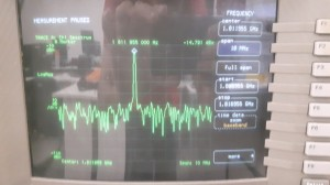 Oscillation frequency